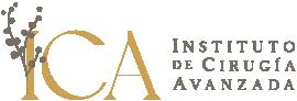 Logo principal de la cínica de cirugía avanzada ICA