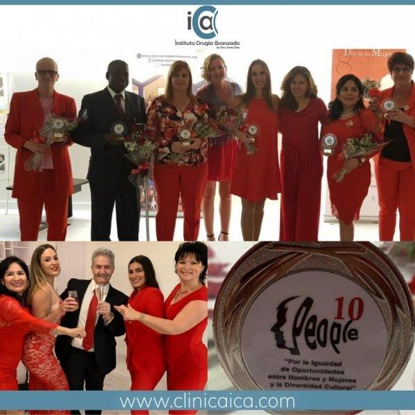 Premio People 10 a la Igualdad de La Asociación de Mujeres Empresarias Iberoamericanas para la Dra. Sonia Díaz